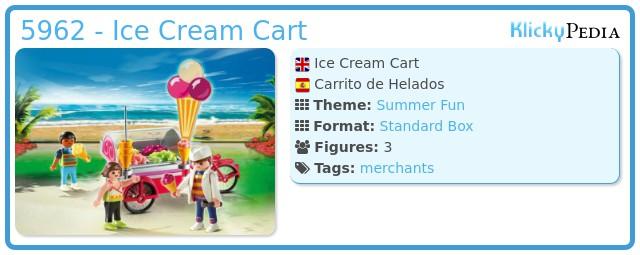 Playmobil 5962 - Ice Cream Cart
