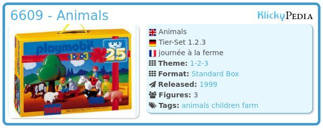 Playmobil 6609 - Animals