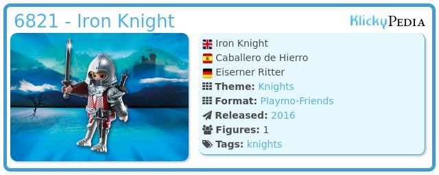 Playmobil 6821 - Iron Knight