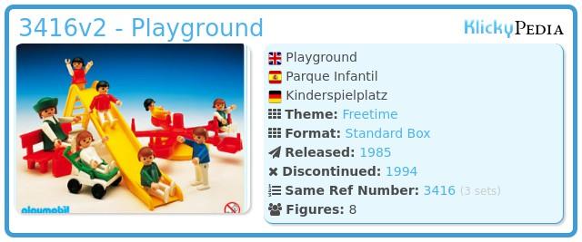 Playmobil 3416v2 - Playground