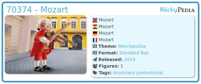 Playmobil 70374 - Mozart