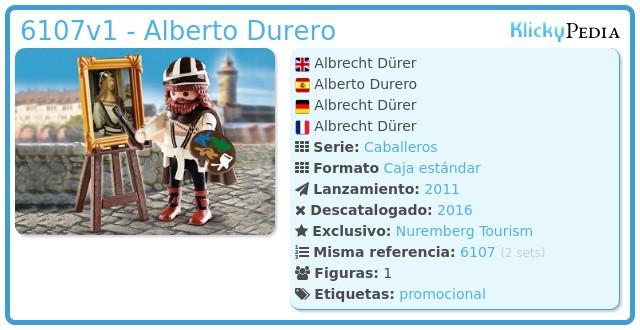 Playmobil 6107v1 - Alberto Durero