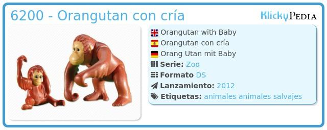Playmobil 6200 - Orangutan con cría