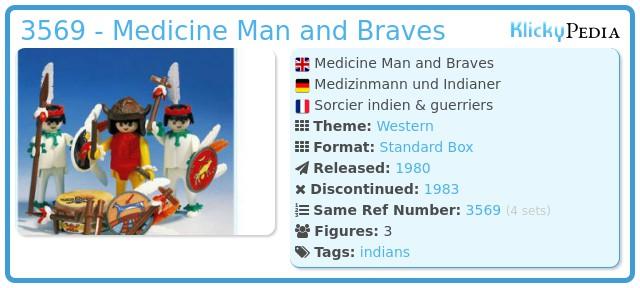 Playmobil 3569 - Medicine Man and Warriors