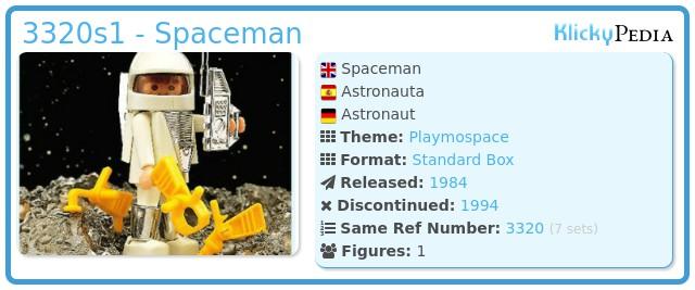 Playmobil 3320s1 - Spaceman
