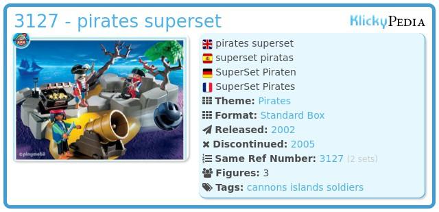 Playmobil 3127 - pirates superset