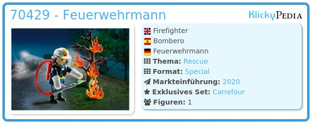 Playmobil 70429 - Firefighter