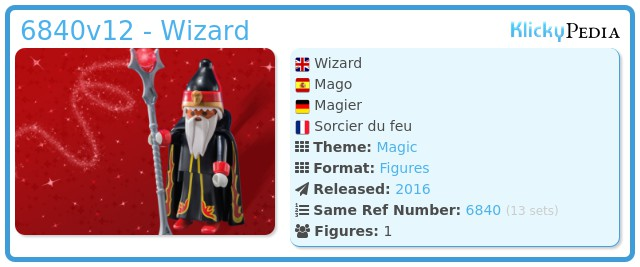 Playmobil 6840v12 - Wizard