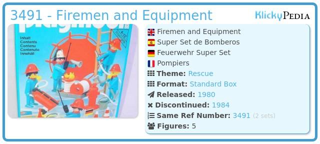 Playmobil 3491 - Firemen