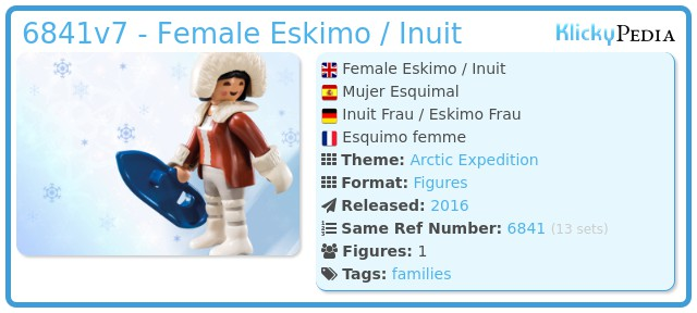 Playmobil 6841v7 - Eskimo / Inuit