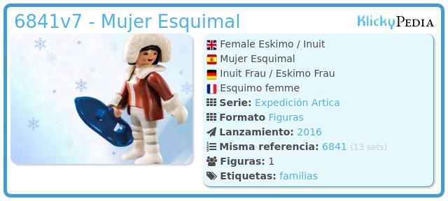 Playmobil 6841v7 - Mujer Esquimal