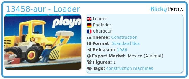 Playmobil 13458-aur - Loader