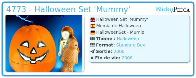 Playmobil 4773 - Halloween Set 'Mummy'