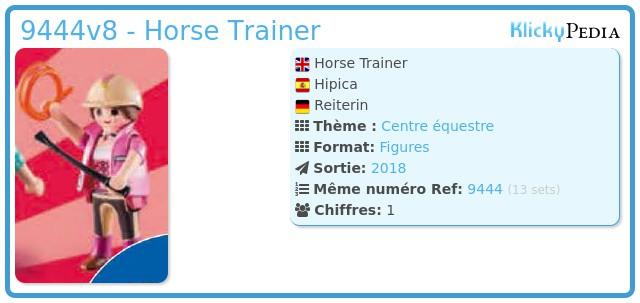 Playmobil 9444v8 - Horse Trainer