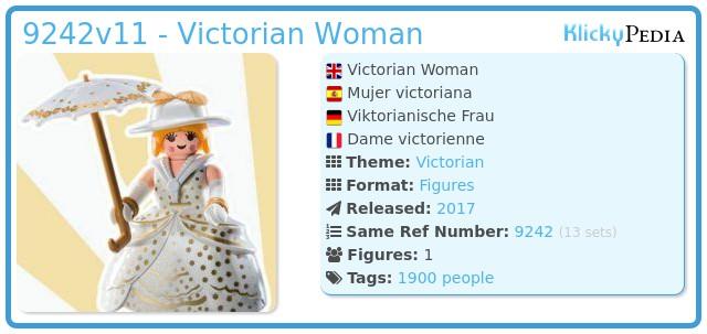 Playmobil 9242v11 - Victorian Woman