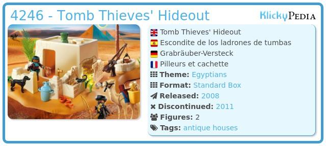 Playmobil 4246 - Tomb with Treasure