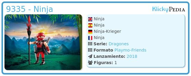 Playmobil 9335 - Ninja