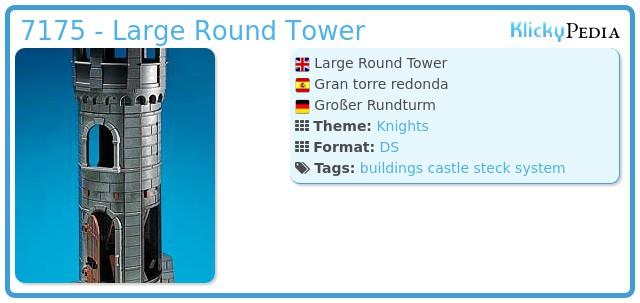 Playmobil 7175 - Large Round Tower