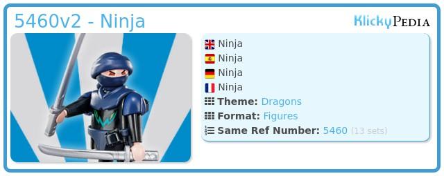 Playmobil 5460v2 - Ninja