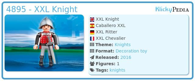 Playmobil 4895 - XXL Knight