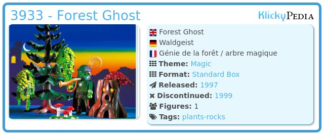 Playmobil 3933 - Forest Ghost