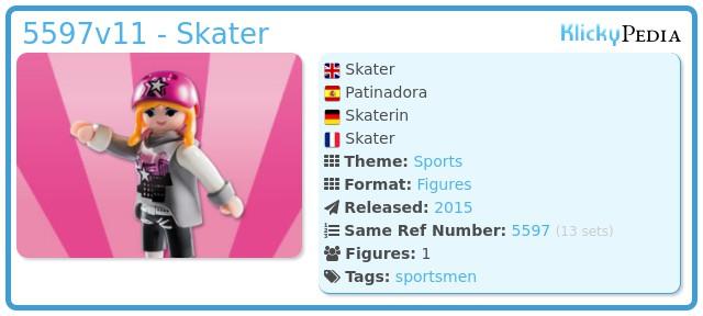 Playmobil 5597v11 - Skater