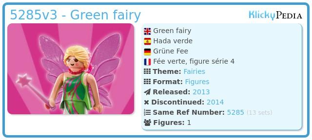 Playmobil 5285v3 - Green fairy
