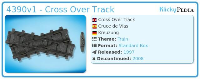 Playmobil 4390v1 - Cross Over Track