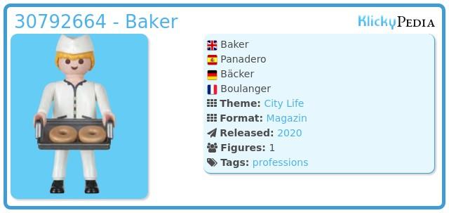 Playmobil 30792664 - Baker