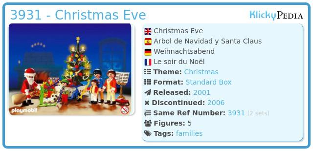 Playmobil 3931 - Christmas Eve