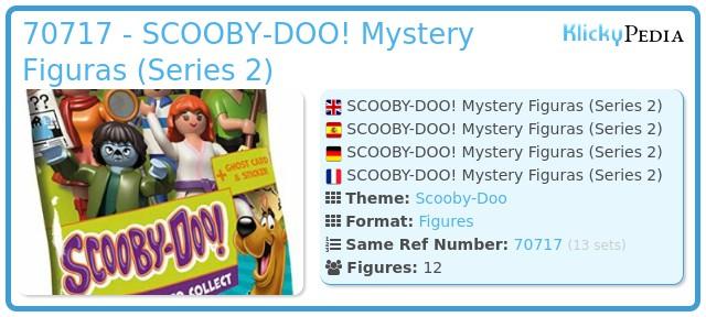 Playmobil 70717 - SCOOBY-DOO! Mystery Figures (Series 2)