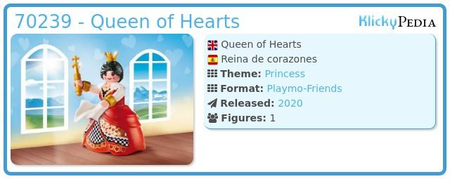 Playmobil 70239 - Queen of Hearts