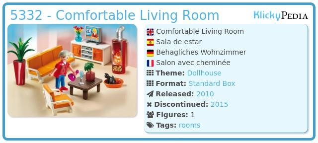 Playmobil 5332 - Comfortable Living Room