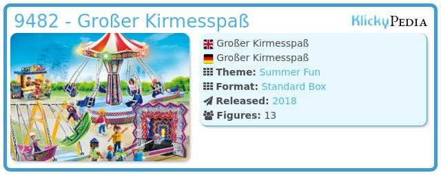 Playmobil 9482 - Großer Kirmesspaß