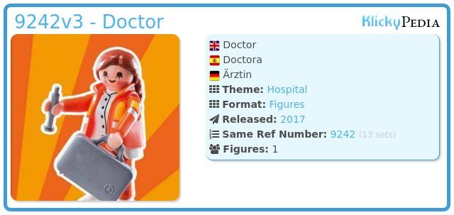 Playmobil 9242v3 - Doctor