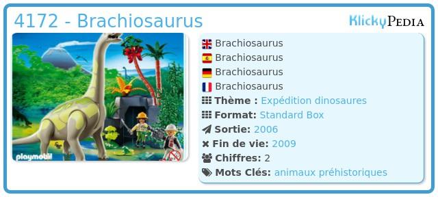 Playmobil 4172 - Brachiosaurus