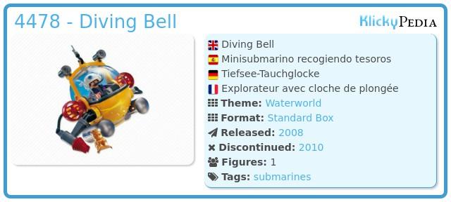 Playmobil 4478 - Diving Bell