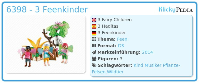 Playmobil 6398 - 3 Feenkinder