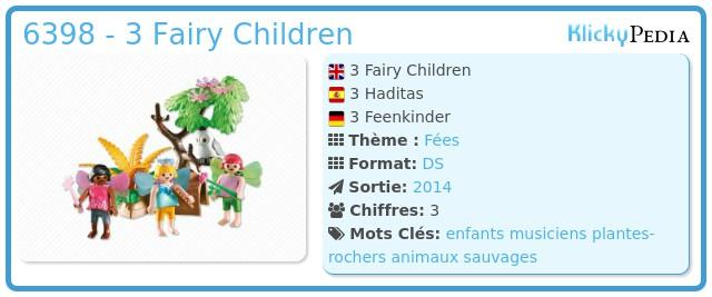 Playmobil 6398 - 3 Fairy Children