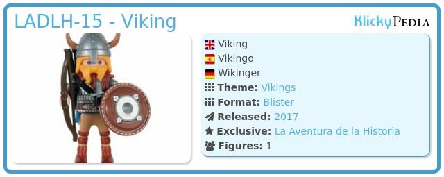 Playmobil LADLH-15 - Viking