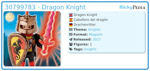 Playmobil 30799783 - Dragon Knight