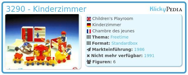 Playmobil 3290 - Kinderzimmer