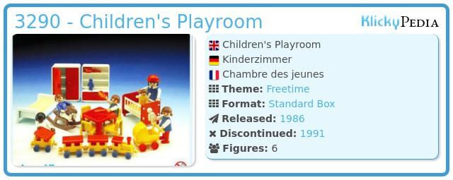 Playmobil 3290 - Children's Playroom