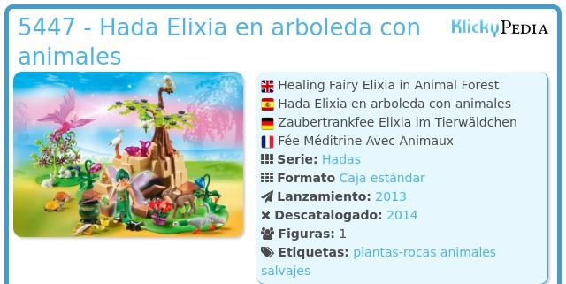 Playmobil 5447 - Hada Elixia en arboleda con animales