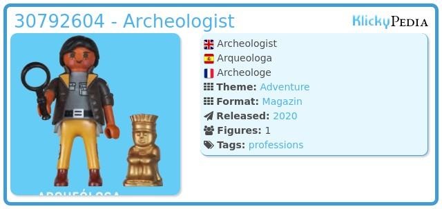Playmobil 30792604 - Archeologist