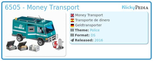 Playmobil 6505 - Money Transport