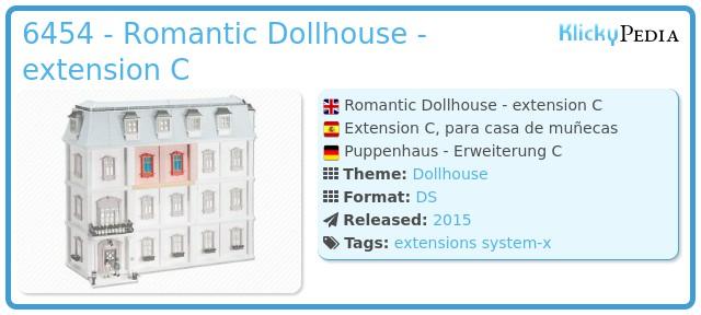Playmobil 6454 - Romantic Dollhouse - extension C