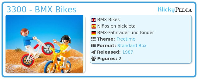 Playmobil 3300 - BMX Bikes