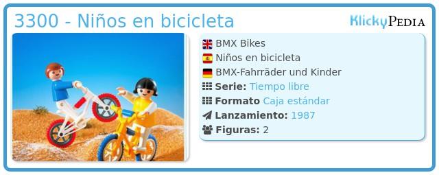 Playmobil 3300 - Niños en bicicleta