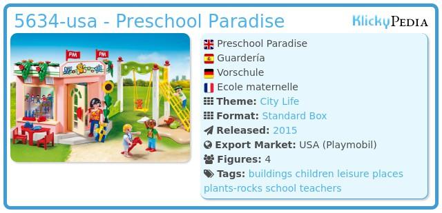 Playmobil 5634-usa - Preschool Paradise